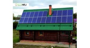 Солнечная электростанция 35 кВт*ч в сутки