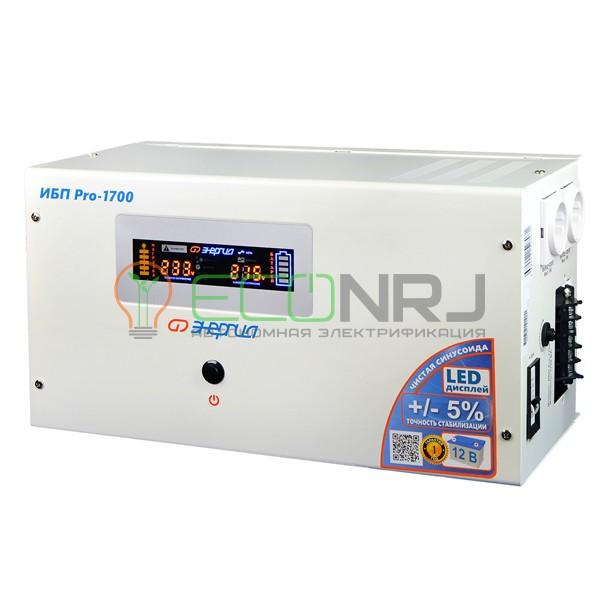 Инвертор (ИБП) Энергия ИБП Pro-1700