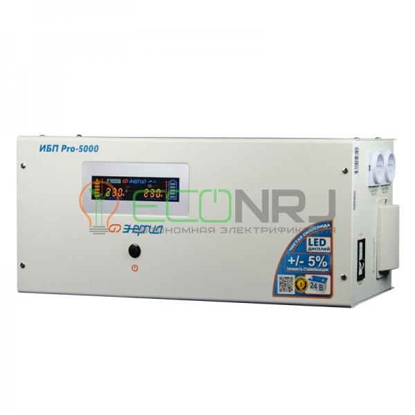 ИБП для дома Энергия Pro-5000