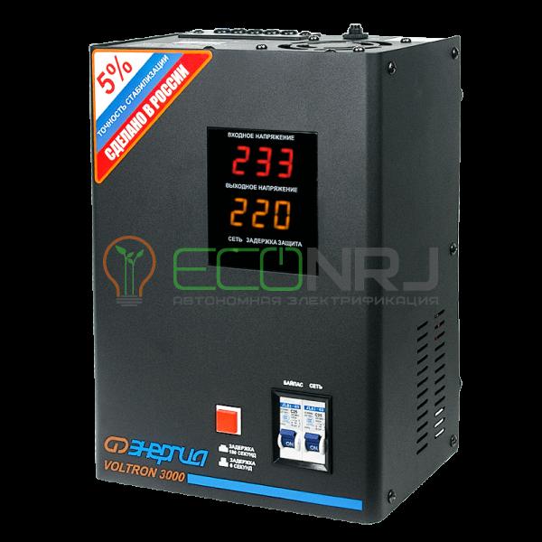 Стабилизатор Энергия VOLTRON 3000