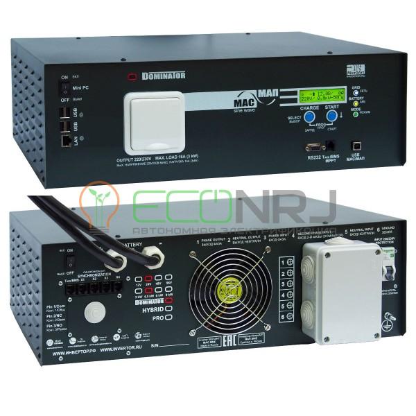 Инвертор МАП DOMINATOR 24В 4.5 кВт