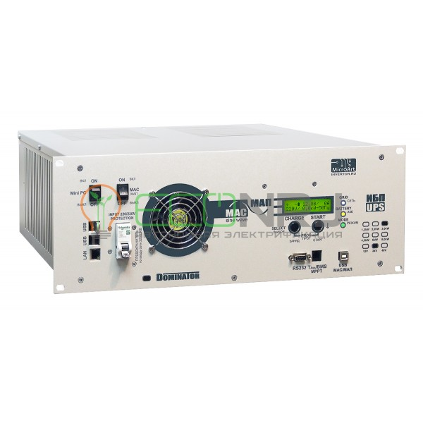 Инвертор МАП DOMINATOR UPS 12В 3 кВт