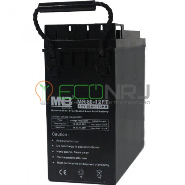 Аккумуляторная батарея MNB MR80-12FT