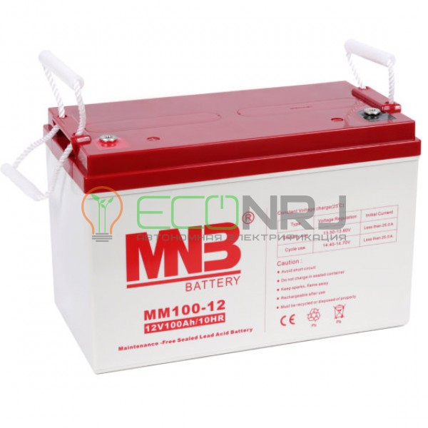 Аккумуляторная батарея MNB MМ100-12