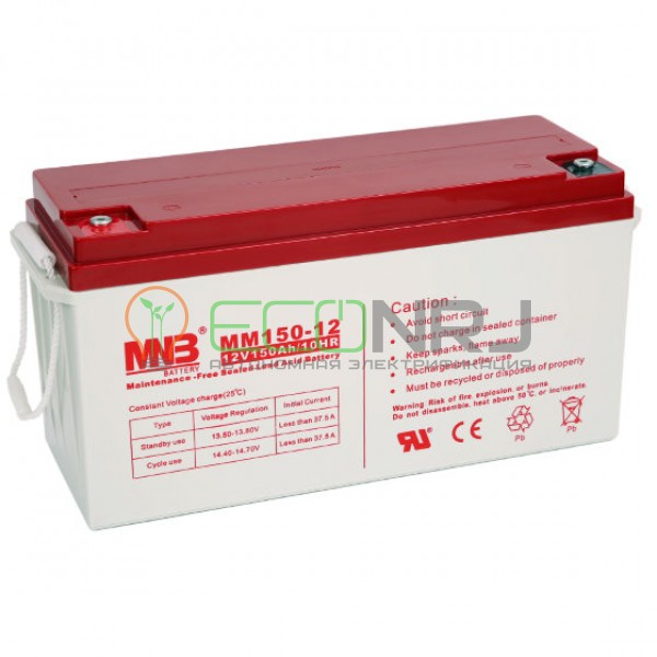 Аккумуляторная батарея MNB MМ150-12
