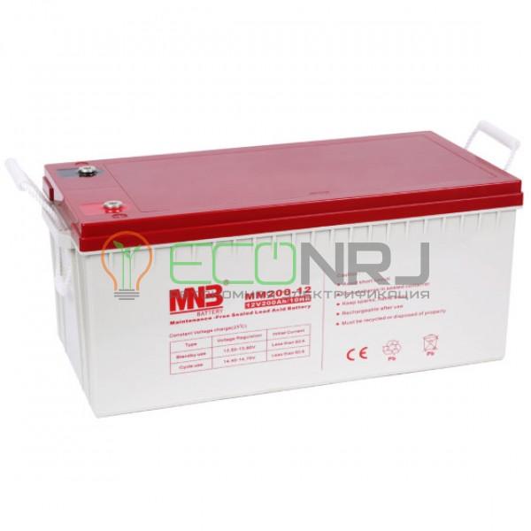 Аккумуляторная батарея MNB MМ200-12