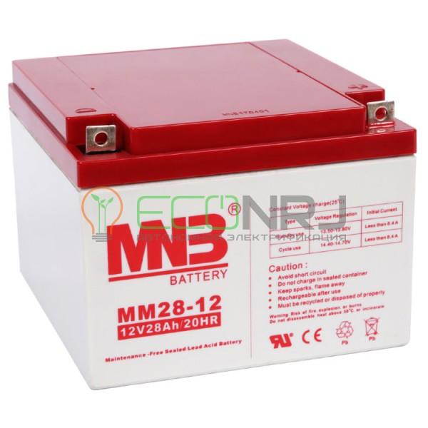 Аккумуляторная батарея MNB MМ28-12