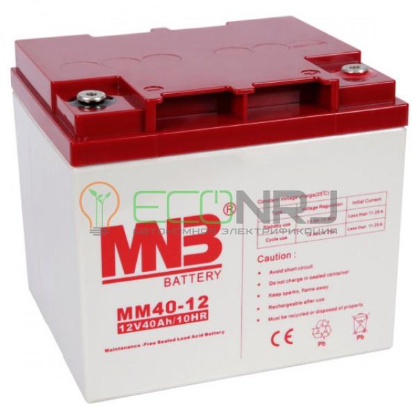 Аккумуляторная батарея MNB MМ40-12
