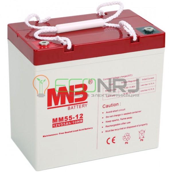 Аккумуляторная батарея MNB MМ55-12
