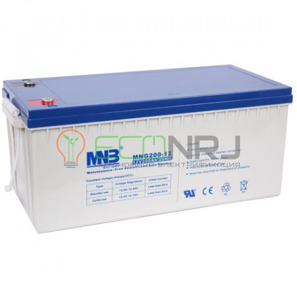 Аккумуляторная батарея MNB MNG200-12
