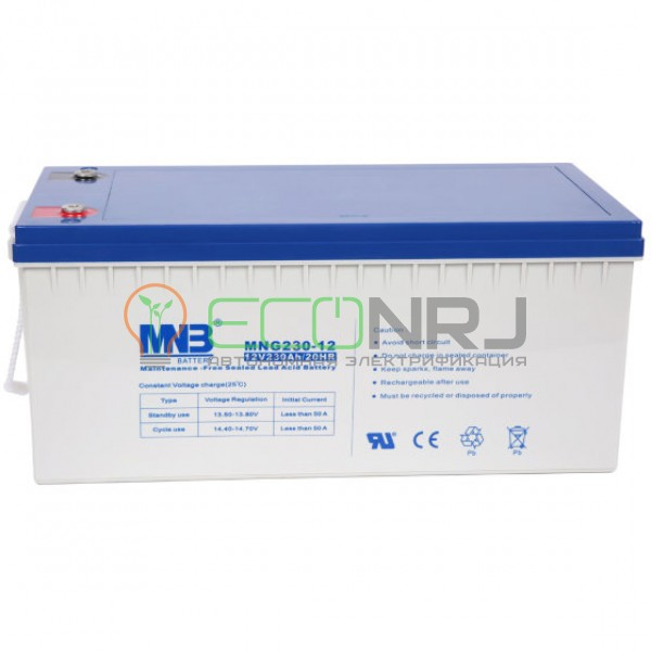 Аккумуляторная батарея MNB MNG230-12