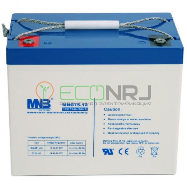 Аккумуляторная батарея MNB MNG75-12
