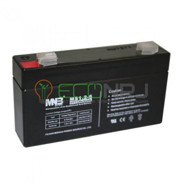 Аккумуляторная батарея MNB MS1.2-6