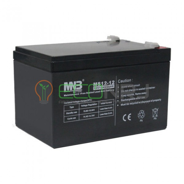 Аккумуляторная батарея MNB MS12-12