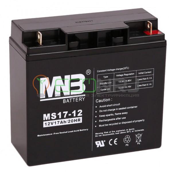 Аккумуляторная батарея MNB MS17-12