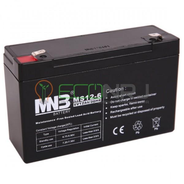 Аккумуляторная батарея MNB MS12-6