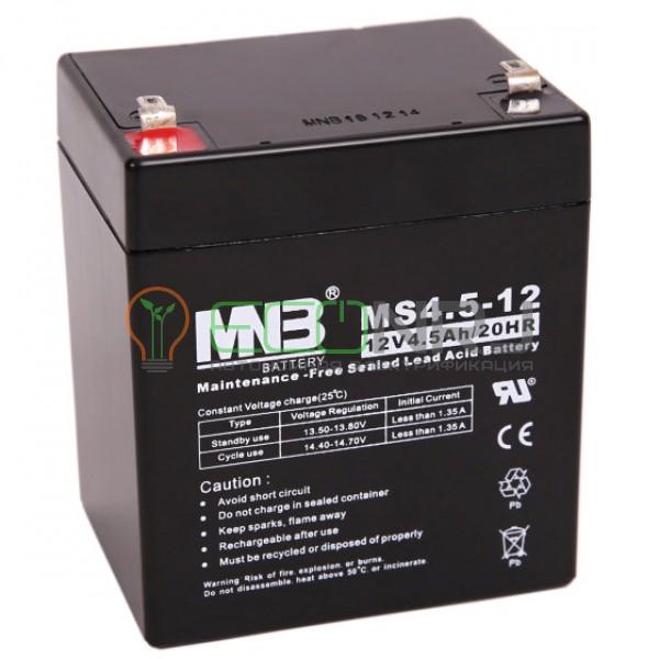 Аккумуляторная батарея MNB MS4.5-12
