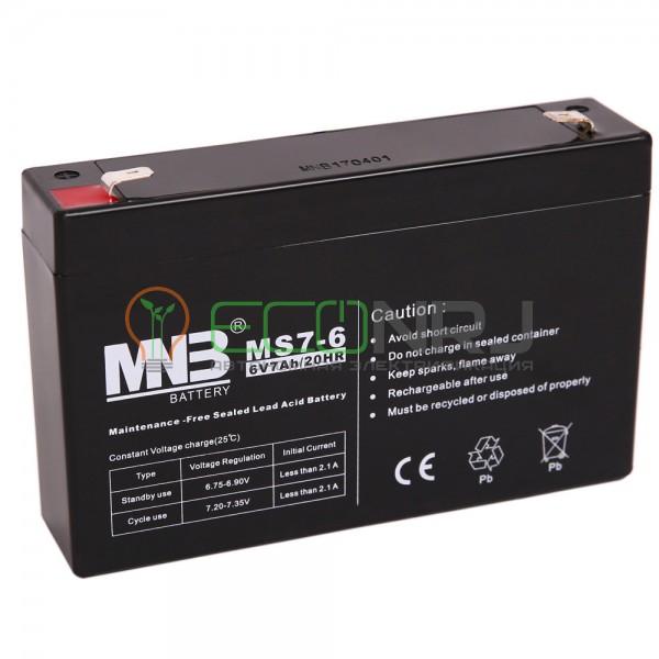 Аккумуляторная батарея MNB MS7-6