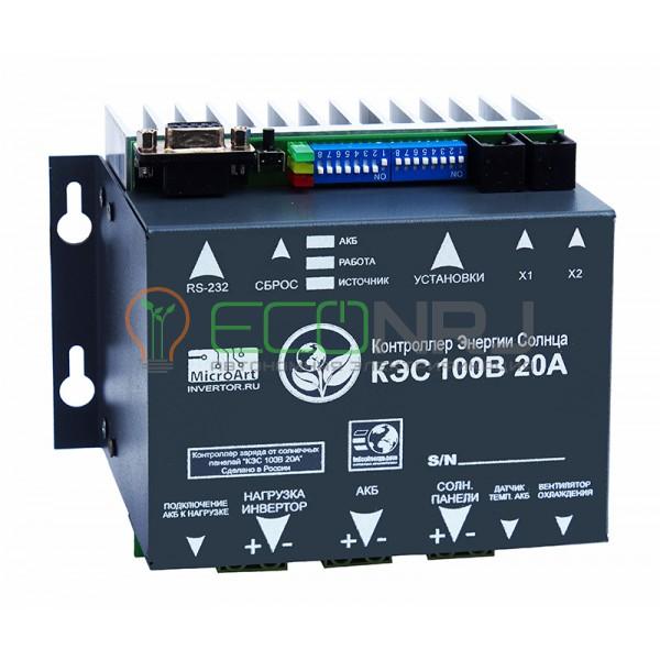 Контроллер заряда МикроАрт КЭС MPPT 100/20
