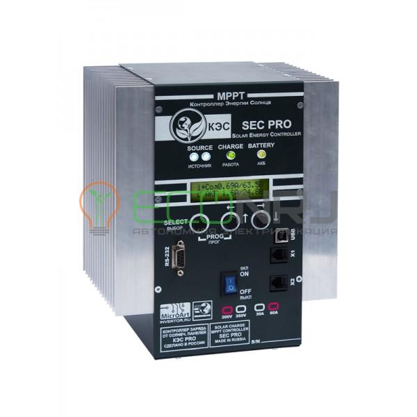 Контроллер заряда МикроАрт КЭС PRO MPPT 200/60