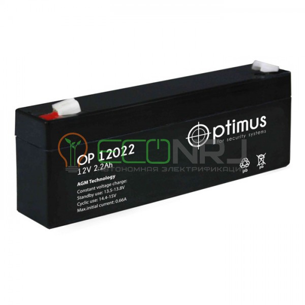 Аккумуляторная батарея Optimus OP 12022