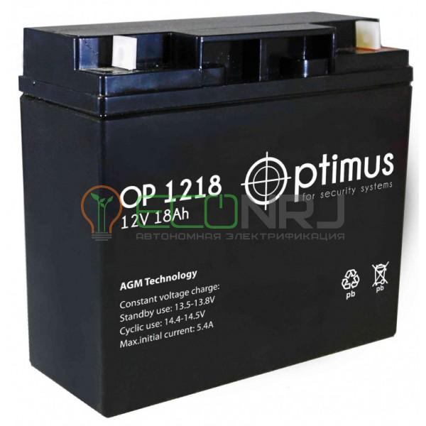 Аккумуляторная батарея Optimus OP 1218