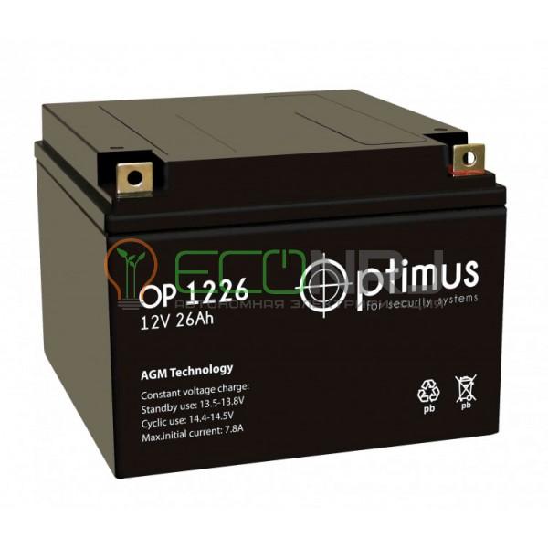 Аккумуляторная батарея Optimus OP 1226