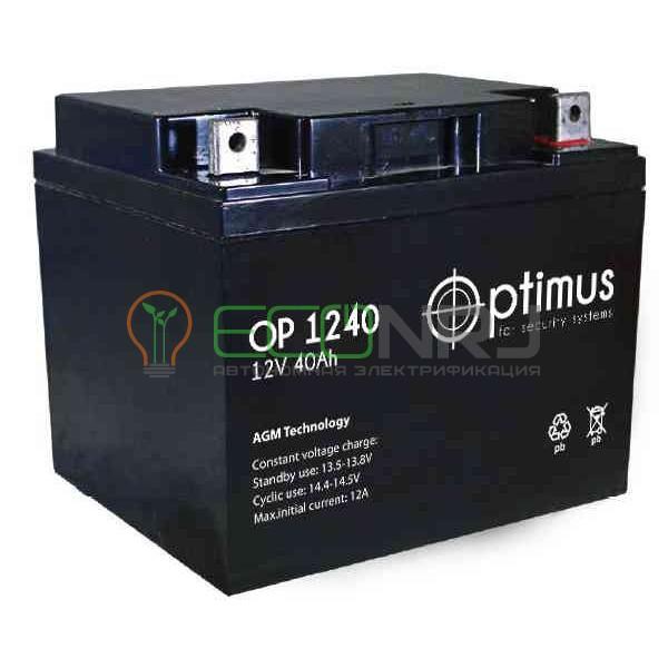 Аккумуляторная батарея Optimus OP 1240