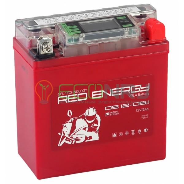 Аккумуляторная батарея Red Energy DS 12-05.1