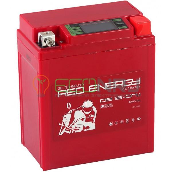 Аккумуляторная батарея Red Energy DS 12-07.1
