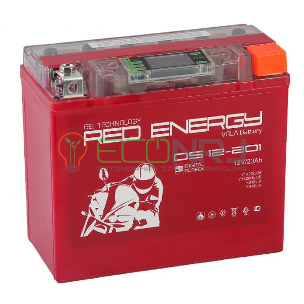Аккумуляторная батарея Red Energy DS 12-201
