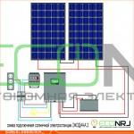 Солнечная электростанция ЭКОДАЧА 2