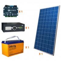 Солнечная электростанция 1.4 кВт*ч в сутки PRO