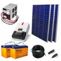 Солнечная электростанция 5.25 кВт*ч в сутки АГМ