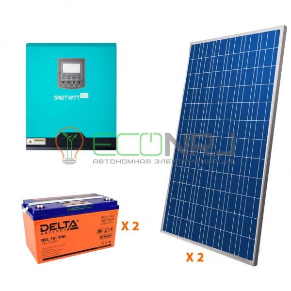 Солнечная электростанция 3.5 кВт*ч в сутки ECO GEL