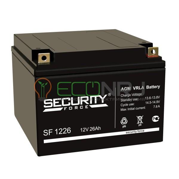 Аккумуляторная батарея Security Force SF 1226