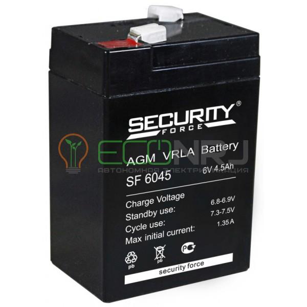 Аккумуляторная батарея Security Force SF 6045