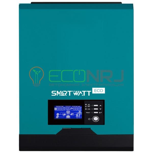 Инвертор гибридный SmartWatt eco 1K 12V 40A MPPT