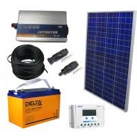 Солнечная электростанция 1.0 кВт*ч в сутки