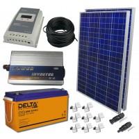 Солнечная электростанция 2.1 кВт*ч в сутки