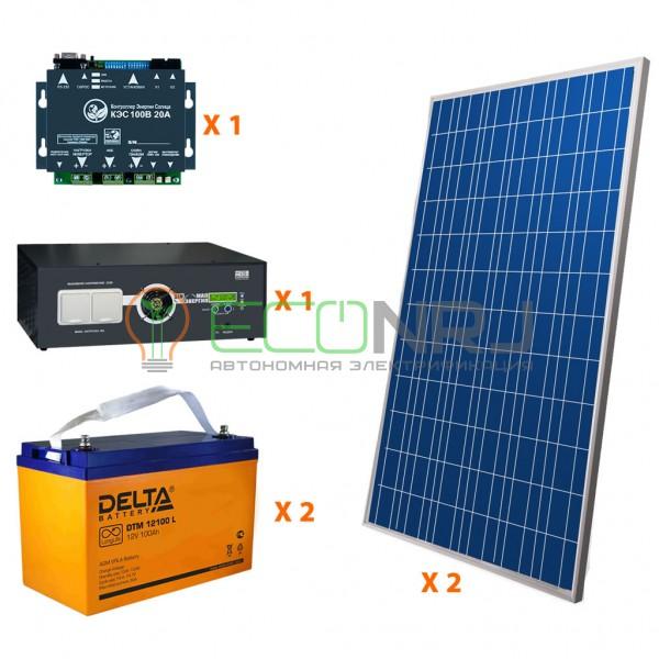 Солнечная электростанция 3.5 кВт*ч в сутки PRO