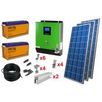 Солнечная электростанция 3.1 кВт*ч в сутки