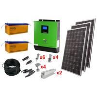 Солнечная электростанция 6.7 кВт*ч в сутки