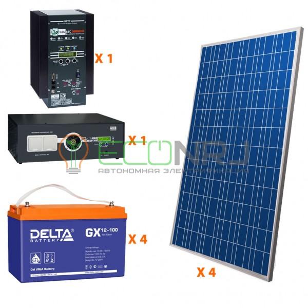 Солнечная электростанция 7 кВт*ч в сутки PRO GEL