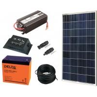 Солнечная электростанция 0.7 кВт*ч в сутки