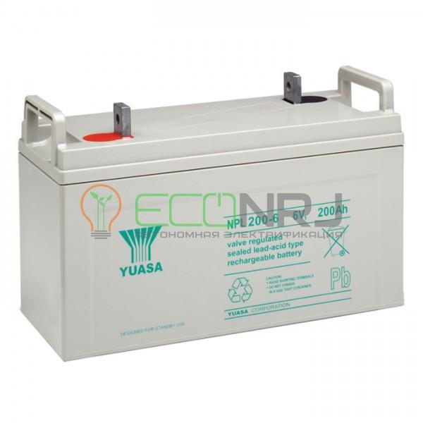 Аккумуляторная батарея Yuasa NPL 200-6