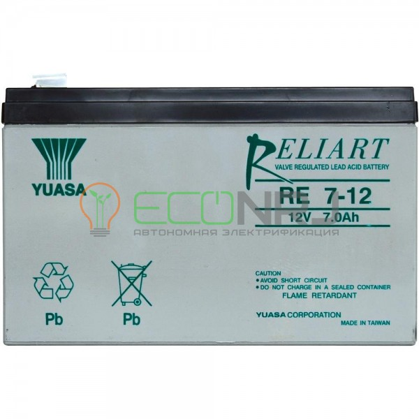 Аккумуляторная батарея Yuasa RE 7-12L