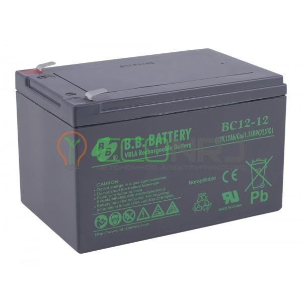 Аккумуляторная батарея B.B.Battery BC 12-12