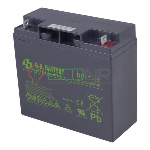 Аккумуляторная батарея B.B.Battery BC 17-12
