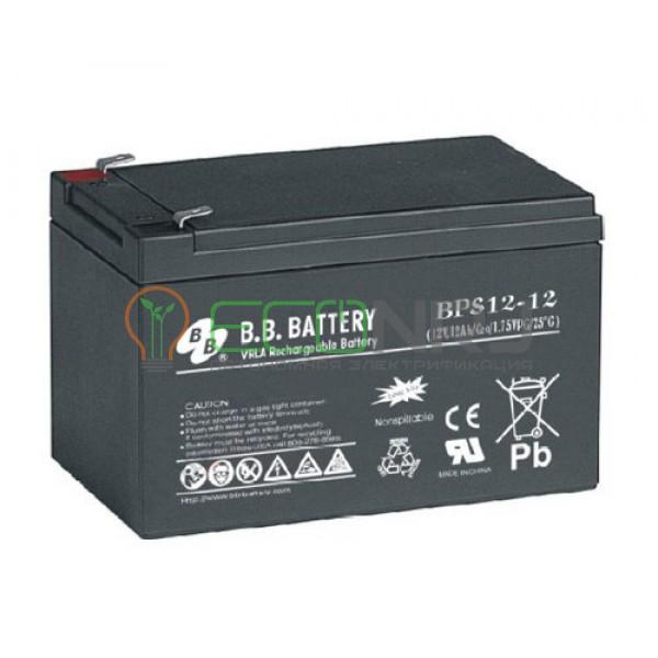Аккумуляторная батарея B.B.Battery BPS 12-12